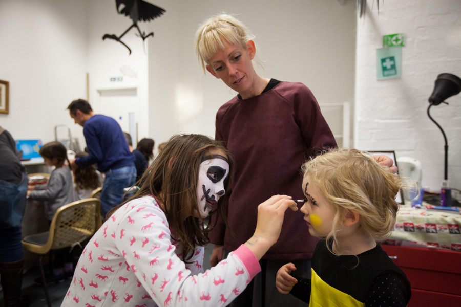 ... face-painting as well!