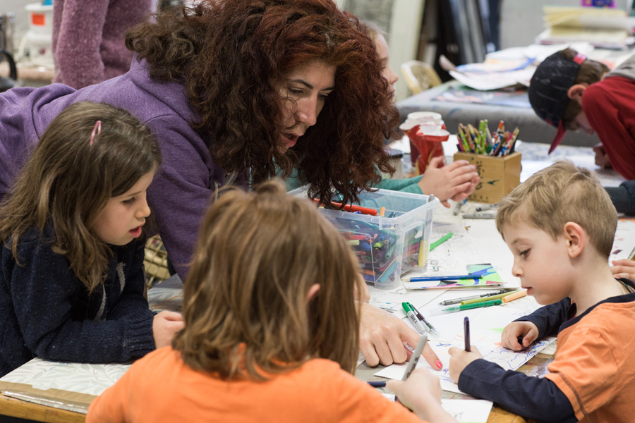 Inky Cuttlesfish Art Classes for kids